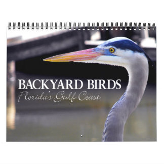 BACKYARD BIRDS WALL CALENDARS