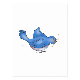 Backyard Buggies · Blue Bird Postcard