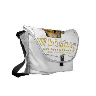 Backyard Burn Whiskey Courier Bag