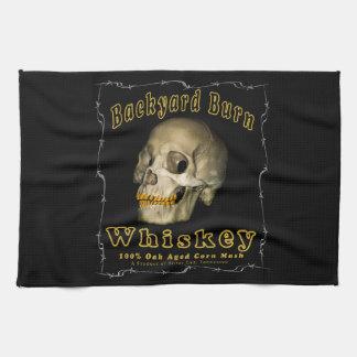 Backyard Burn Whiskey Kitchen Towel
