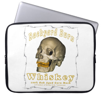 Backyard Burn Whiskey Laptop Sleeve