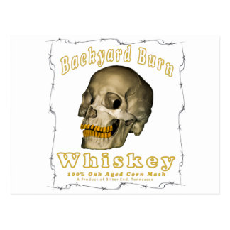 Backyard Burn Whiskey Postcard