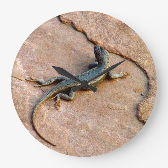 Backyard Lizard Wallclock