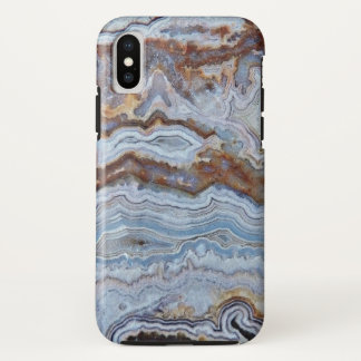 Bacon Agate Pattern iPhone X Case