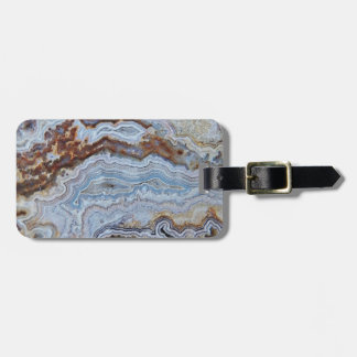 Bacon Agate Pattern Luggage Tag