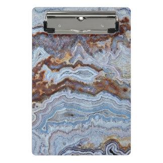 Bacon Agate Pattern Mini Clipboard