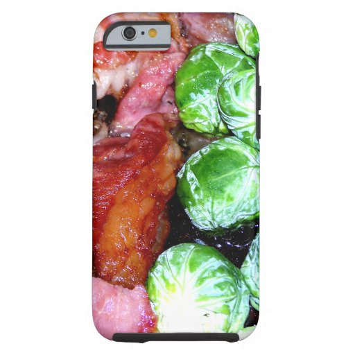Bacon and Brussels iPhone 6 Case