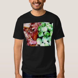 Bacon and Brussels T-shirts