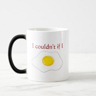 Bacon and egg mug. magic mug