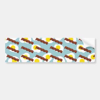 bacon and eggs 2 bumper sticker