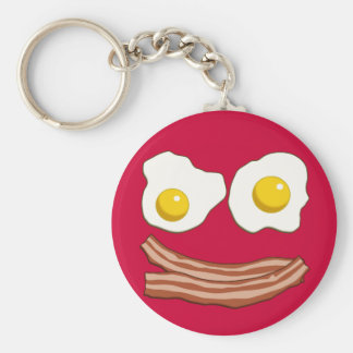Bacon and Eggs Keychain