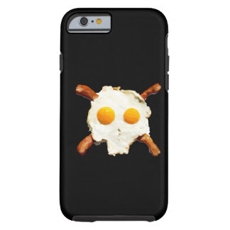 bacon and eggs skull tough iPhone 6 case