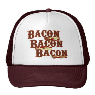Bacon Bacon Bacon Hat