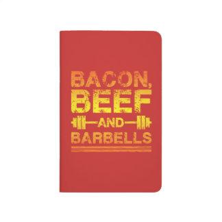Bacon, Beef, Barbells - Gym Workout Motivational Journal