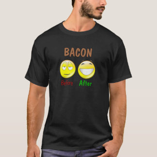 Bacon Before After T-Shirt
