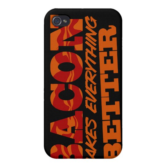Bacon Better $40.95 iPhone 4 Cases