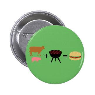Bacon Burger Recipe 2 Inch Round Button