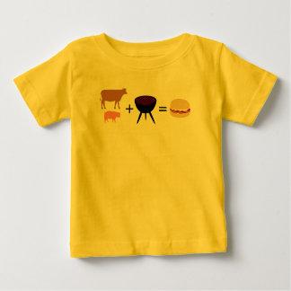 Bacon Burger Recipe Baby T-Shirt