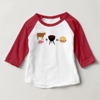 Bacon Burger Recipe Baby T-Shirt