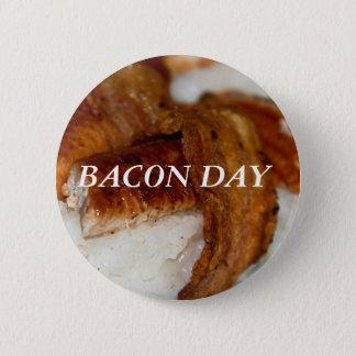 BACON DAY 2 INCH ROUND BUTTON