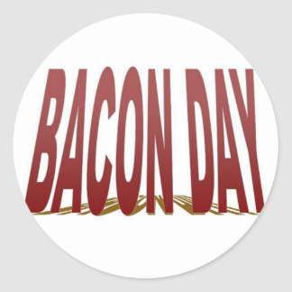 Bacon Day Stickers