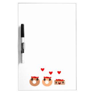 Bacon Donut Dry Erase Board