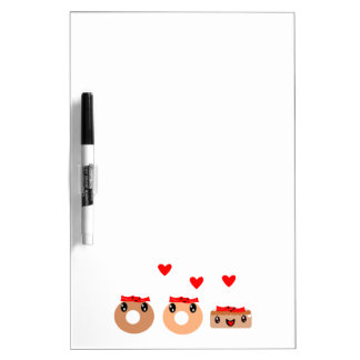 Bacon Donut Dry Erase Whiteboard