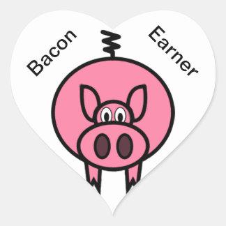 Bacon Earner Sticker
