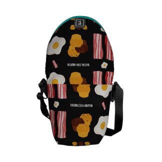Bacon, Egg & Muffin!! Messenger Bag