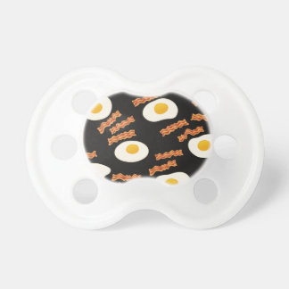 Bacon & Eggs Baby Pacifiers