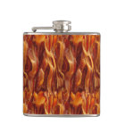Bacon Field Yummy Pattern Hip Flask