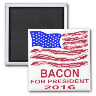 Bacon For President Magnet