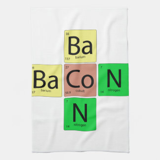 Bacon Geek Kitchen Towel
