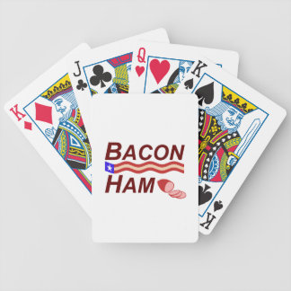Bacon Ham Campaign Bicycle Playing Cards