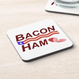 Bacon Ham Campaign Coaster