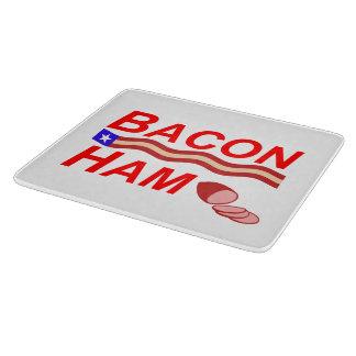 Bacon Ham Campaign Cutting Board