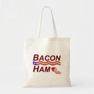 Bacon Ham Campaign Tote Bag