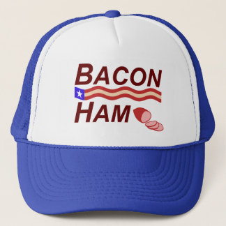 Bacon Ham Campaign Trucker Hat
