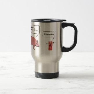Bacon, I Am Your Father Travel Mug