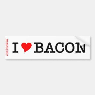 Bacon I Love Bumper Stickers