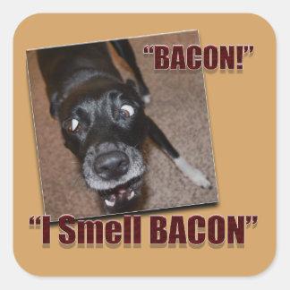 Bacon, I Smell Bacon Square Sticker