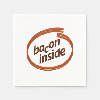 Bacon Inside napkins Paper Napkins
