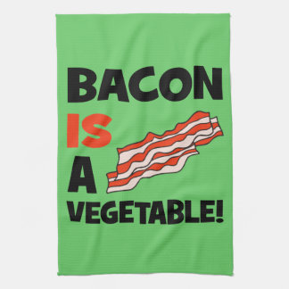 bacon is a vegetable towels
