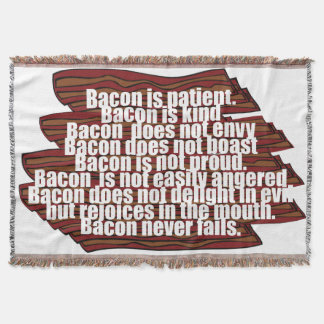 Bacon is Kind Throw