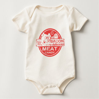 Bacon is Meat Candy Baby Bodysuit