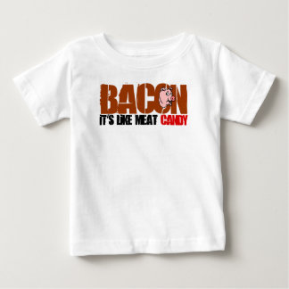 Bacon It's Like Meat Candy T Shirts