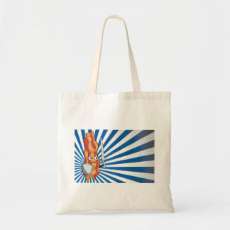 Bacon Knight Tote Bag