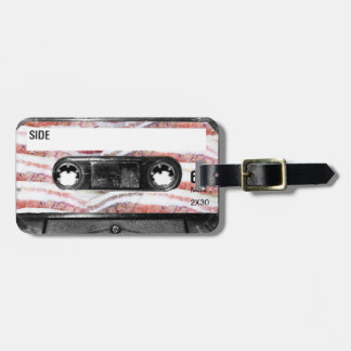 Bacon Label Cassette Luggage Tag