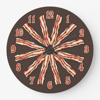 Bacon Large Clock