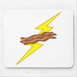 Bacon Lightning Mouse Pad